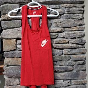 Nike Logo Tank w/ Pocket